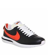 Nike Roshe Cortez NM LTR Black White Orange UK 8 BNIB