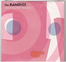 THE BANGLES SOMETHING THAT YOU SAID PROMO CD card slv