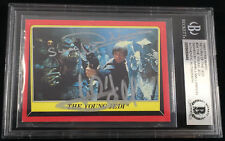 MARK HAMILL 1983 TOPPS STAR WARS JEDI CARD MULTI-SIGNED AUTOGRAPHED BAS BECKETT