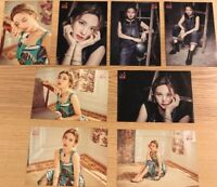 TWICE JPN Album BDZ Release event Limited Official Photocard NAYEON 8set F/S