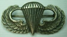 Robbins Co Sterling Silver Airborne / Paratrooper Wing - PB