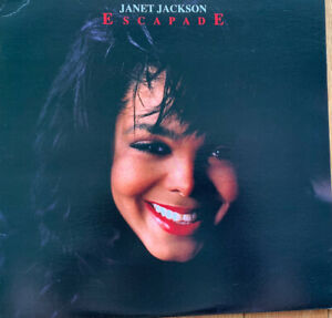 Janet Jackson Escapade Used Vinyl LP