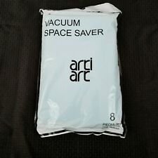 """Arti Art Space Saver Vacuum Storage Bags Pack of 8 4 XL 28""""X10"""" and 4 L 24""""X16"""""""