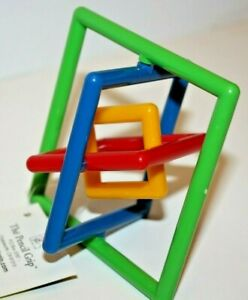 The Pencil Grip Inc Square OR Circle Gyrobi Fidget Toy Baby Toy