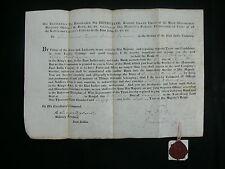Bengal Infantry 1805-45 East India Co. Lieut-General's Commissions (6) & Docs