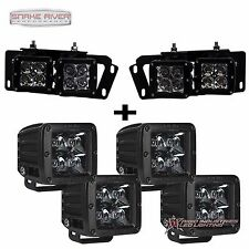 RIGID INDUSTRIES FOR 10-15 DODGE RAM 2500 3500 MIDNIGHT LED FOG LIGHT KIT