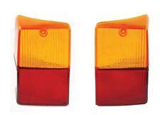 Classic Mini Rear Tail Light Lenses PAIR XFJ10027 XFJ10026 NEW