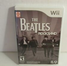 Nintendo Wii Game The Beatles RockBand (2009) with Case and Manual