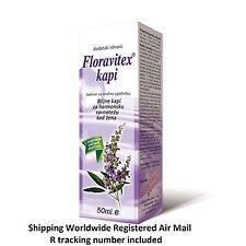 Floravitex ® - herbal drops for hormonal balance in woman / biljne kapi za žene