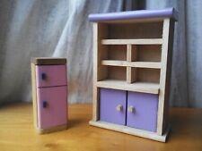 Dolls House  Wooden Kitchen Furniture