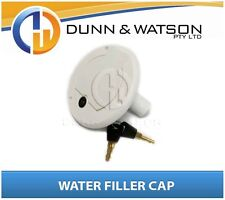 Key Lockable Water Filler Cap - Tanks, Camper Trailers, Caravans, spare parts