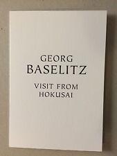 Georg Baselitz, Private View Tarjeta de invitación, Gagosian Gallery, 2015