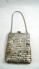 "Vintage SILVERPLATE EVENING BAG Dressy 5"" x 4"""