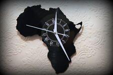 "Vinyl Record Wall Clock  I love Africa Series Somalia  Silent Mechanism 12"" LP"