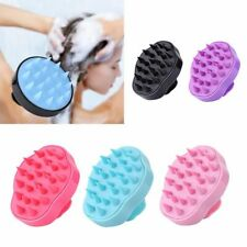Silicone Head Body Scalp Massage Brush Comb Shampoo Hair Washing Comb Shower