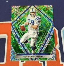 2020 Spectra #80 Peyton Manning Neon Green Prizm 15/35 Made Colts