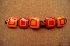 "Reloj de pulsera Moschino ""I Love 70"" para un color rojo/naranja"