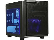 APEVIA X-QPACK3-BL Blue SECC Micro ATX Cube Case Computer Case