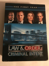 LAW & ORDER CRIMINAL INTENT THE FIRST YEAR  6 DISC SET WITH PAMPLET DVD