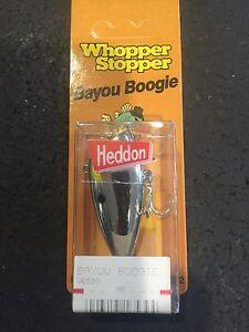 Heddon Original Whopper Stopper Bayou Boogie W6539 Chrome