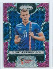 2018 Panini Prizm World Cup Alfred Finnbogason Pink Lazer /40 Iceland