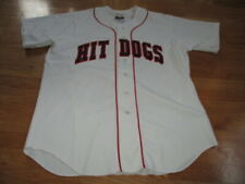 Vintage Wilson Label - MO VAUGHN No. 12 HIT DOGS (XL) Jersey BOSTON RED SOX