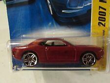 Hot Wheels Dodge Challenger Concept 2007 New Models Dk Red