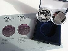 La república checa 2015 200 coronas moneda de plata coin pp proof-Jan Perner-Ferrocarril