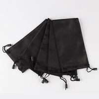 10 Pcs New Black Fashion Black Sunglasses Eyeglasses Cloth Pouches Bags T Gift