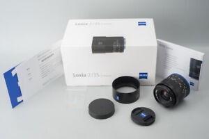 Zeiss Loxia 35mm f/2 f2 Biogon T* Wide Angle Lens, For Sony E Mount, Boxed