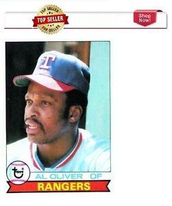 1979 Topps Al Oliver Texas Rangers #391 Baseball Card