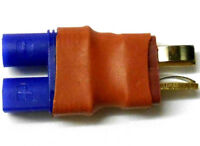 C0025 RC Compatible Male T-Plug to Female EC3 Adaptor Adapter