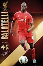 SOCCER POSTER Mario Balotelli Liverpool 2014-2015