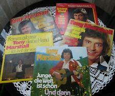 Tony Marshall - 5 singles - Ariola label - Germany - 1970s - Collection