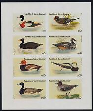 Equatorial Guinea imperf m/s MNH Ducks