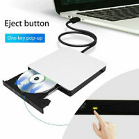 USB 3.0 /2.0 External Driver Recorder 3D CD/DVD Burner Writer Portable Reader
