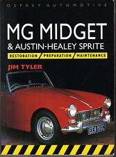 MG Midget & AH Sprite RESTAURO preparazione maintenence meccanica & carrozzeria