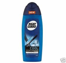 4 x Right Guard Xtreme Cool Shower Gel for Body & Hair 250ml