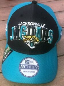 New Era NFL Jacksonville Jaguars 39Thirty 1995 OnField Cap Teal Black NWT