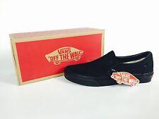 Vans Classic Slip On Unisex Black Sneakers Size 8.5 Men/10.0 Women