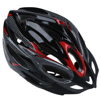 JSZ Sports Bike Bicycle Cycling Safety Helmet with Visor Adult Red ED