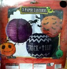 HALLOWEEN Home Deco - Children Kid Party Trick Treat Garland Lantern Spooky Deco