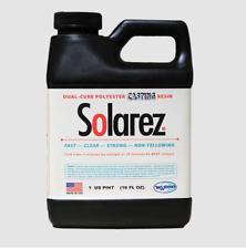 Solarez Uv Cure Clear Casting Resin Pint ~ for Diy Jewelry, Hobby, Craft