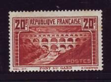 N° 262A neuf *, Pont du Gard, signé Calves & Roumet, TTB !!!  / ++++++++++++