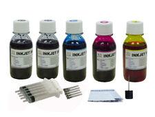 5x100ML refill ink for Canon PG-243 CL-244  MG3020 TS202 TS302 TS3120 TS3122
