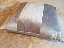 4 22 x 22 inch  Silver ice crushed velvet metallic bling cushion covers.
