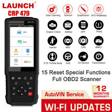 LAUNCH X431 CRP479 OBD2 Diagnostic Scanner 15 Special Service Functions Reset