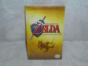 The Legend of Zelda Ocarina of Time 3D Prima Official Game Guide Paperback NEW
