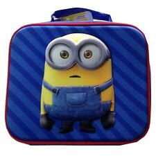 Despicable Me Minions 3d Insulated Lunch Bag Official Licensed Item