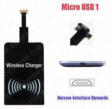 Qi Wireless Ricevitore di ricarica Micro USB tipo 1 stretto per Android telefono ecc.